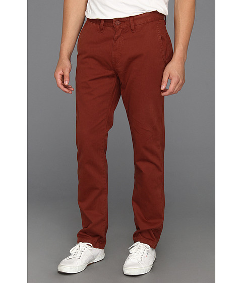5464804e469305 UPC 887040911585 product image for Vans Excerpt Chino (Brick Maroon) Men s  Casual Pants ...