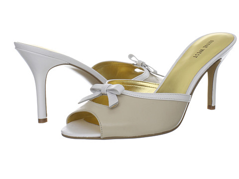 Shop Nine West online and buy Nine West GoodAre Panna/White Leather High Heels shoes online