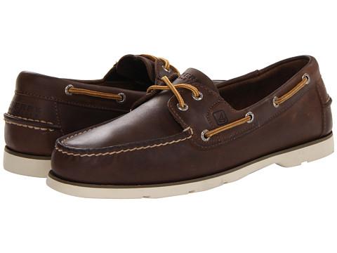 UPC 886129314552 product image for Sperry Mens Leeward 2-Eyelet Dark Brown  Boat Shoes-