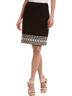 SALE! $139.99 - Save $138 on Kate Spade New York Judy Skirt (Black Clotted Cream) Apparel - 49.64% OFF $278.00