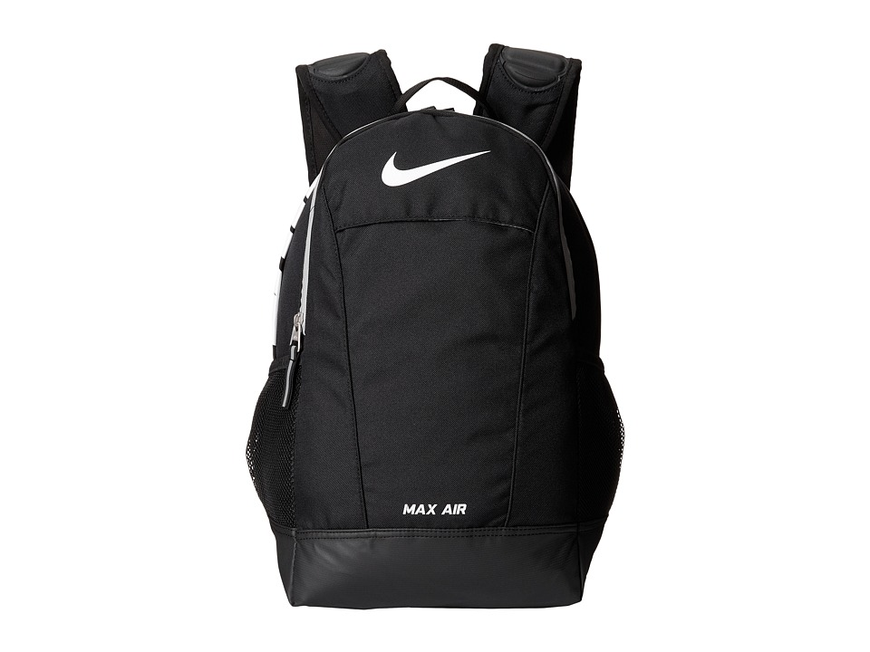 Nike - Young Athlete Max Air Team Training Small Backpack (Black/Black/White Multi Snake) Backpack Bags