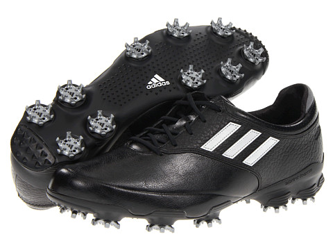 adidas Golf - adiZERO Tour (Black/White/Black) Men's Golf Shoes