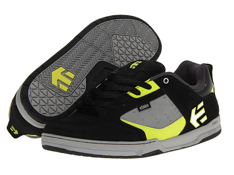 etnies - Cartel (Black/Lime) Men