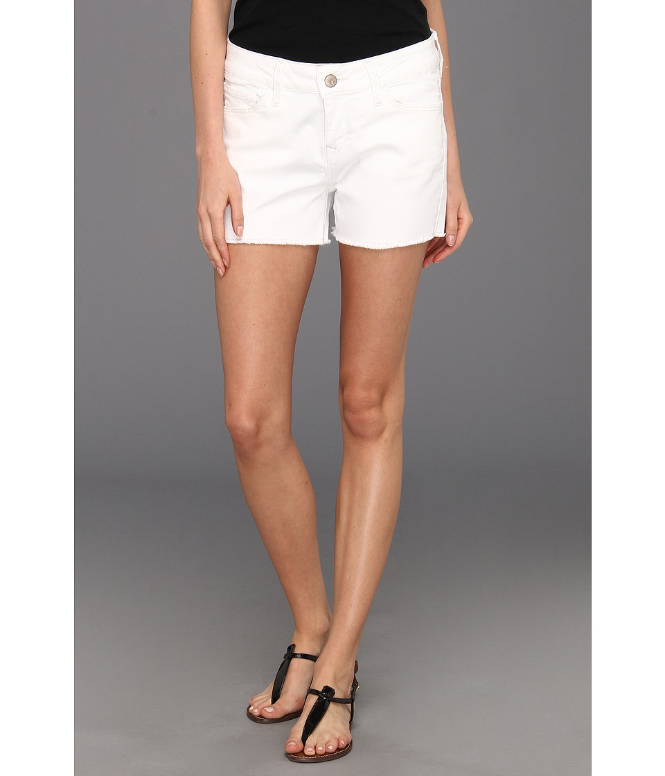 Mavi Jeans - Emily Cut-Off Boyfriend Short in White Nolita (White Nolita) Women's Shorts