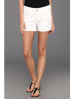SALE! $36.99 - Save $41 on Mavi Jeans Emily Cut Off Boyfriend Short in White Nolita (White Nolita) Apparel - 52.58% OFF $78.00