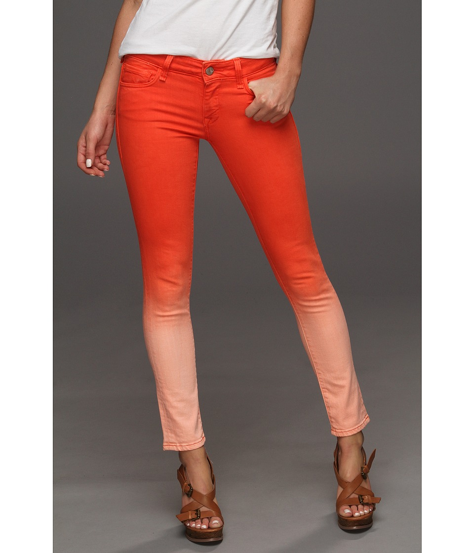 Mavi Jeans - Serena Ankle Low-Rise Super Skinny in Orange Fade (Orange Fade) Women's Jeans