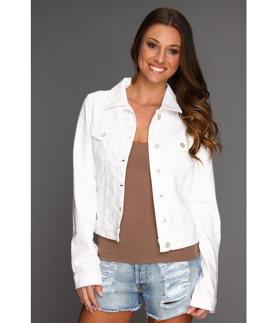 Mavi Jeans Samantha Denim Jacket in White Nolita (White Nolita) Women