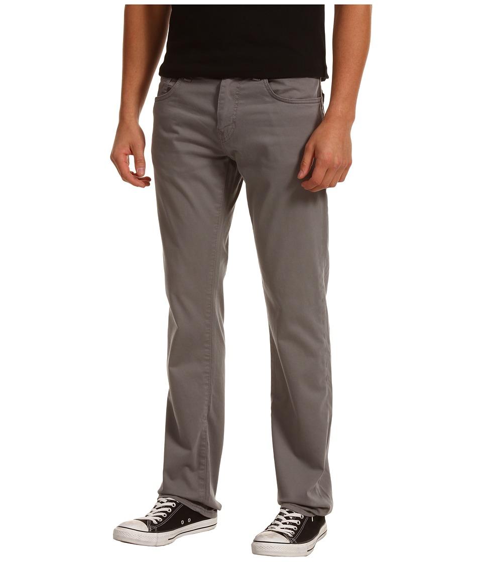 Mavi Jeans - Zach Regular Rise Straight Leg Twill (Grey Twill) Men's Jeans