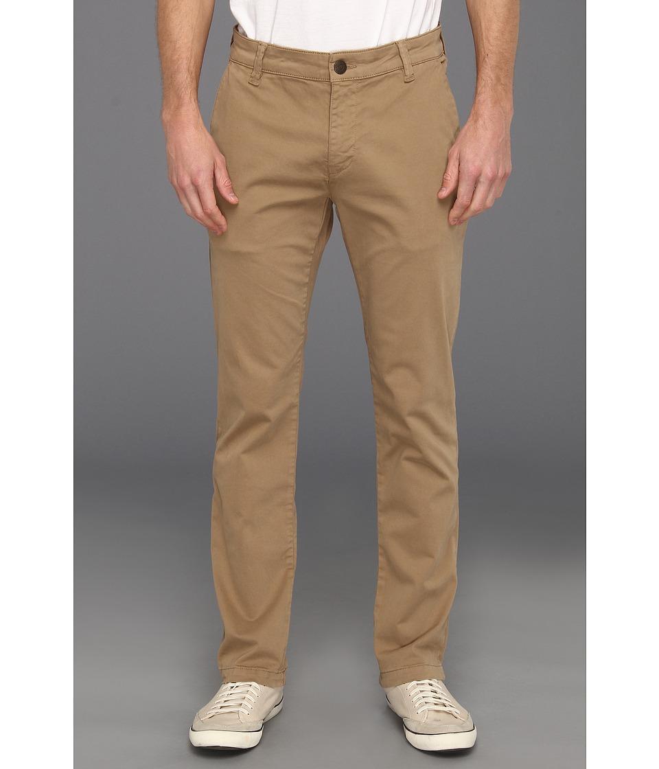 Mavi Jeans - Edward Flat Front Chino (Khaki Twill) Men's Casual Pants