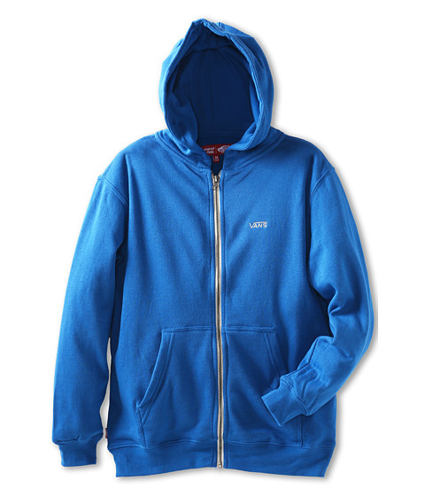 Vans Kids - Core Basics Zip Hoodie II (Big Kids) (Classic Blue) Boy