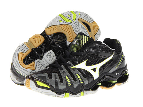 Mizuno - Wave Tornado 8 (Black/White) Women