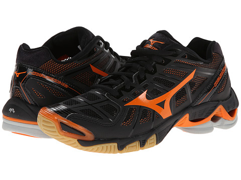 Mizuno - Wave Lightning RX2 (Black/Orange) Women