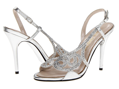 E! Live from the Red Carpet - E0014 (Silver Metallic) High Heels