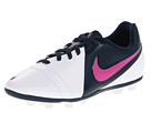 Nike Kids Jr CTR360 Enganche III FG-R (Toddler/Little Kid/Big Kid) (White/Armory Navy/White/Club Pink) Girls Shoes
