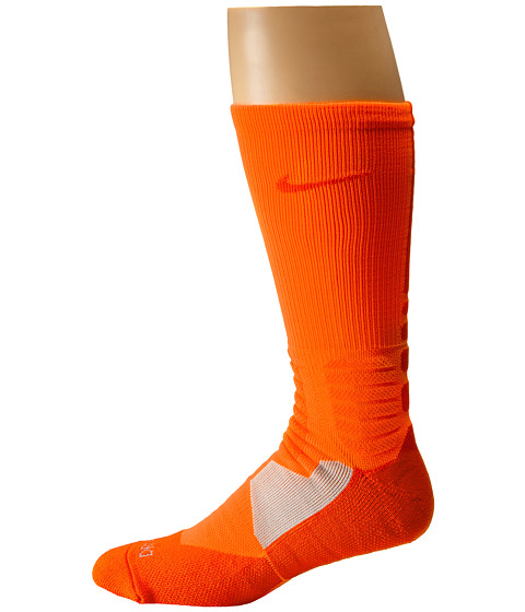 Nike - Hyperelite Basketball Crew (Total Orange/Team Orange/Team Orange) Men's Crew Cut Socks Shoes
