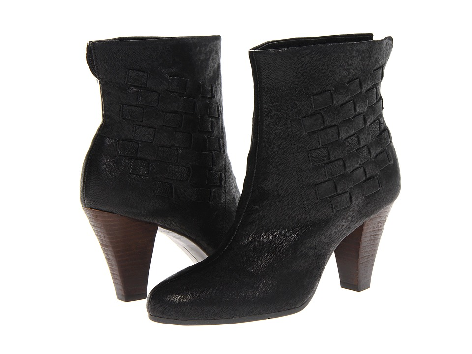 Nine West - Shambles (Black Leather) Women's Pull-on Boots