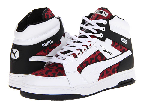 big sale 23845 bd5a8 UPC 887119718152 product image for PUMA Slipstream Animal (White Red) Shoes    upcitemdb ...