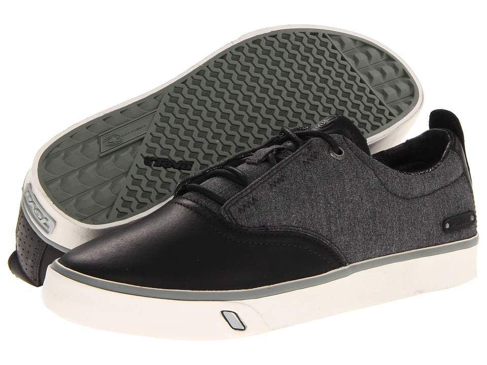 Teva - Carbon (Black) Men's Lace up casual Shoes