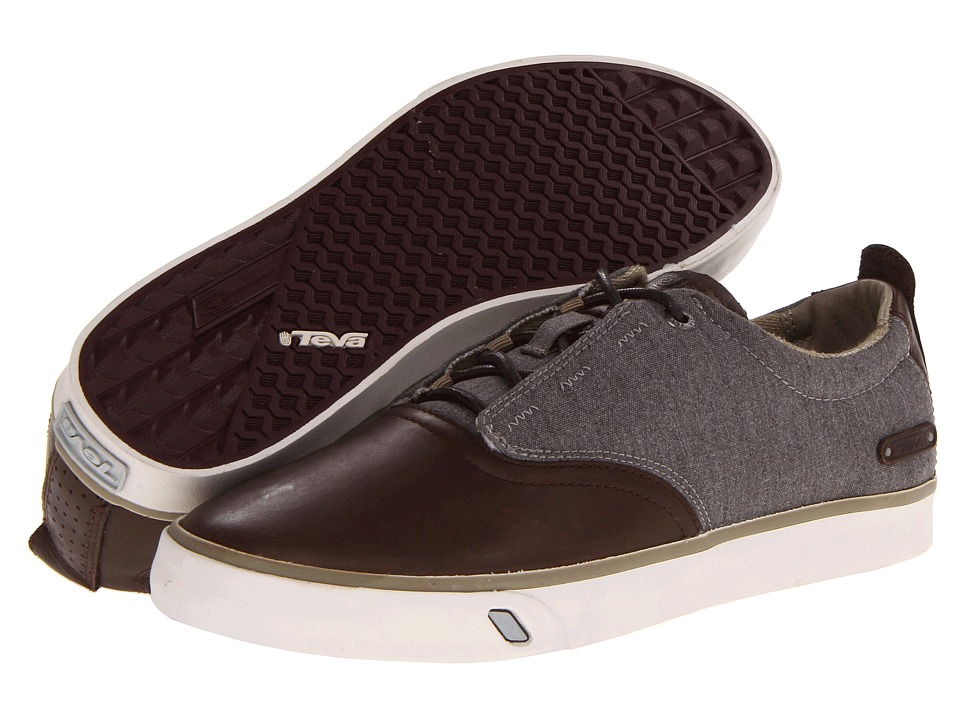 Teva - Carbon (Brown/Grey) Men's Lace up casual Shoes