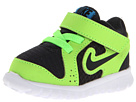 Nike Kids Flex Experience (Infant/Toddler) (Anthracite/Flash Lime/Blue Hero/Black) Kids Shoes