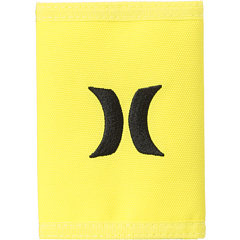 SALE! $9.99 - Save $6 on Hurley One Only Trifold Wallet (Neon Yellow) Bags and Luggage - 37.56% OFF $16.00
