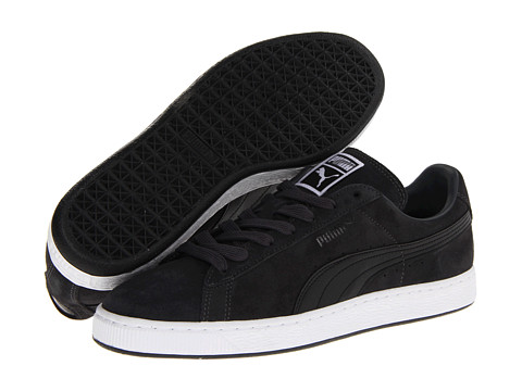 PUMA - Suede Classic (Dark Shadow/Black 2) Shoes