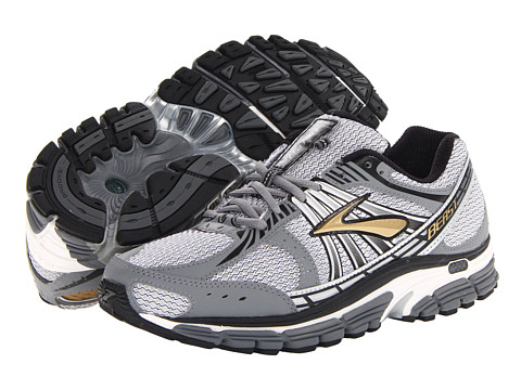 Brooks - Beast '12 (Gold/Pavement/Black/Silver/White) Men's Running Shoes