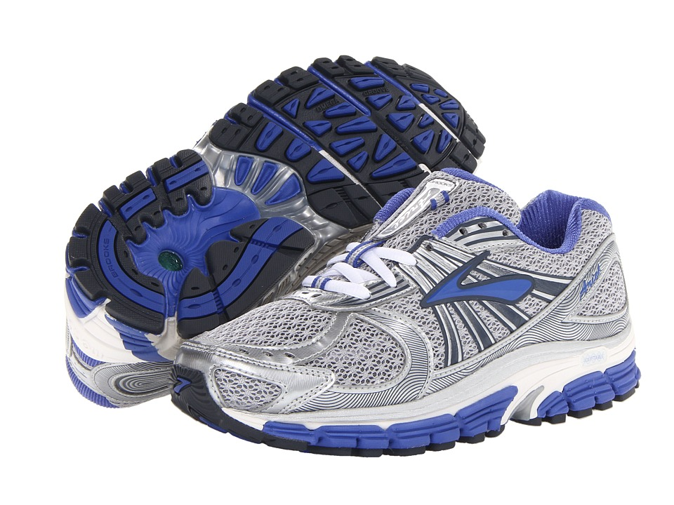 Brooks - Ariel (Silver/Ombre Blue/Dazzling Blue/White/Lunar Rock) Women's Running Shoes