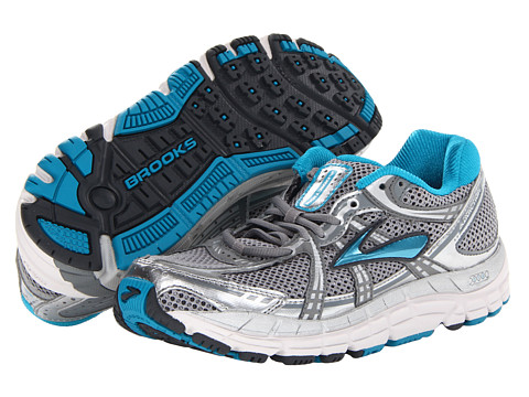 Brooks - Addiction 11 (Silver/Primer Grey/Shadow/White/Caribbean Sea/Lunar Rock) Women's Running Shoes