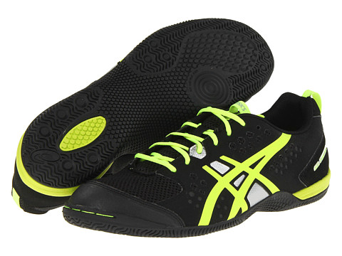 ASICS - GEL-Fortius TR (Black/Flash Yellow/Silver) Men's Cross Training Shoes