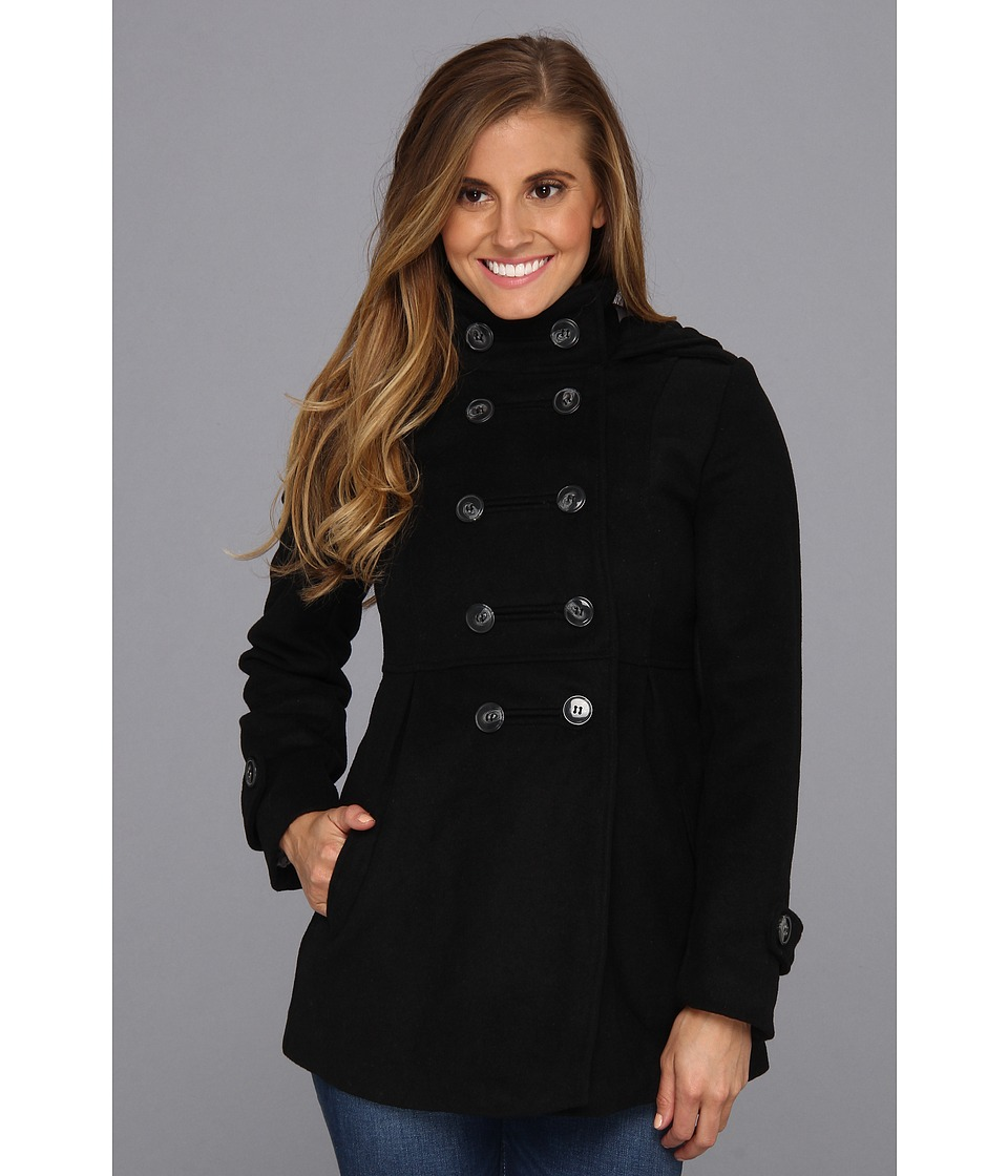 Vans - Abide Peacoat (Black) Women's Coat