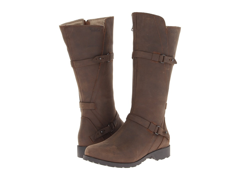 Teva - De La Vina (Brown) Women's Zip Boots