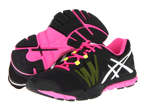 ASICS - GEL-Craze TR (Black/White/Hot Pink) Women's Cross Training Shoes