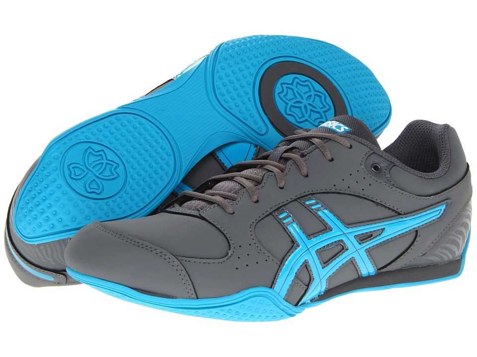 ASICS - Rhythmic 2 SB (Carbon/Maui Blue/White) Women's Shoes