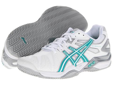 Upc 887749018905 Asics Gel Resolution 5 Clay Court White Aqua