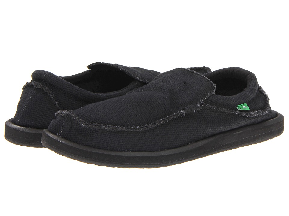 Sanuk - Chiba (Blackout) Men's Slip on Shoes