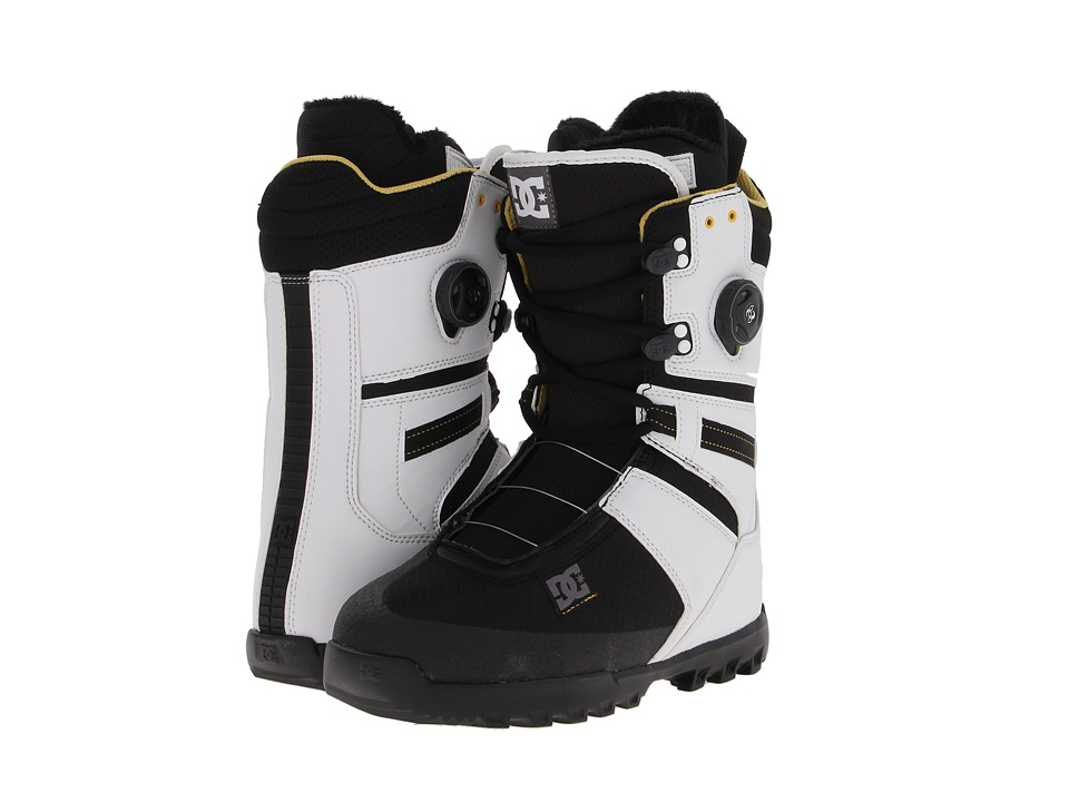 DC - Gizmo (White/Black) Men's Snow Shoes
