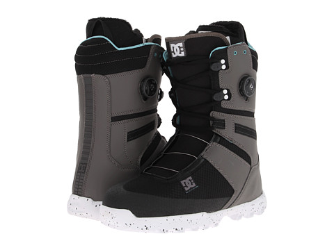 DC - Gizmo (Grey/Black) Men's Snow Shoes