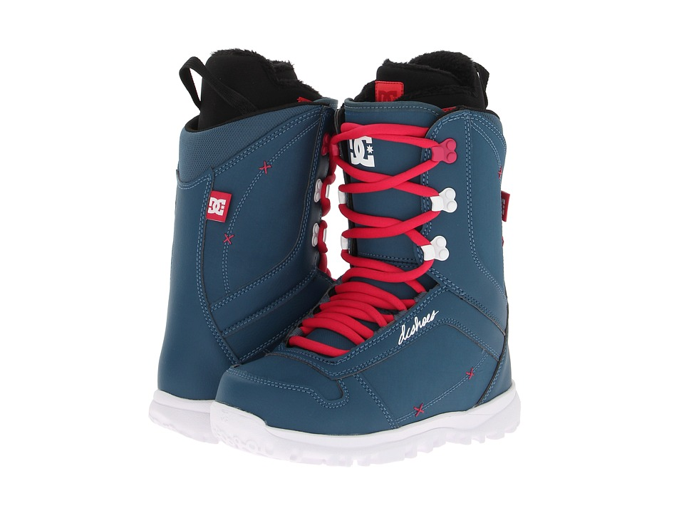 DC - Karma (Blue/White) Women's Snow Shoes