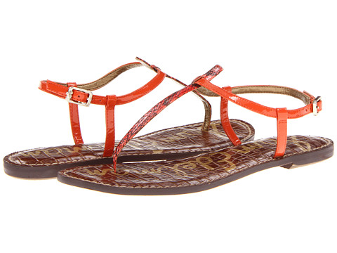 Shop Sam Edelman online and buy Sam Edelman Gigi Marmalade Womens Sandals shoes online