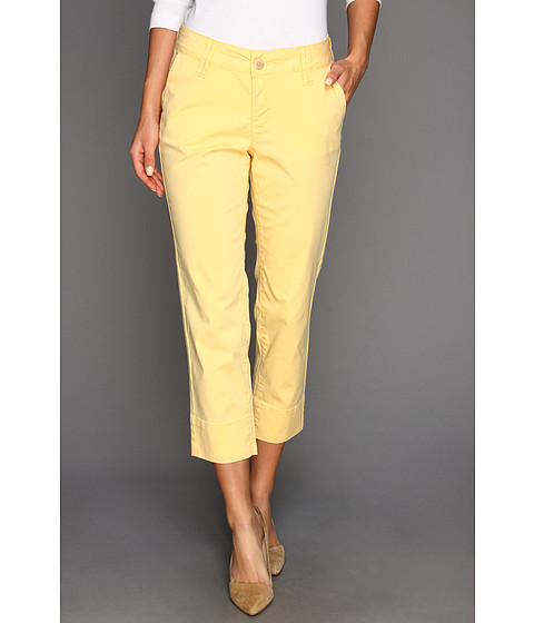 Jag Jeans Maitland Slim Crop Fine Line Twill (Juice) Women's Capri