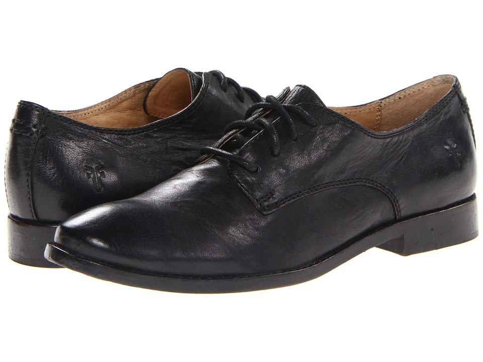 Frye Anna Oxford (Black Antique Soft Vintage) High Heels