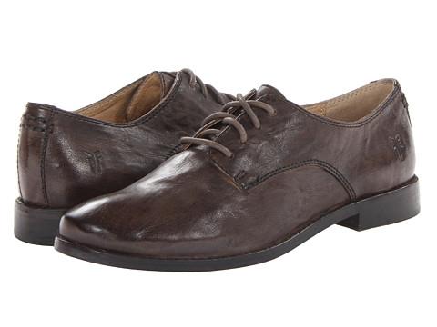 Frye - Anna Oxford (Taupe Antique Soft Vintage) High Heels
