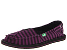 Sanuk Castaway (Purple/Black)
