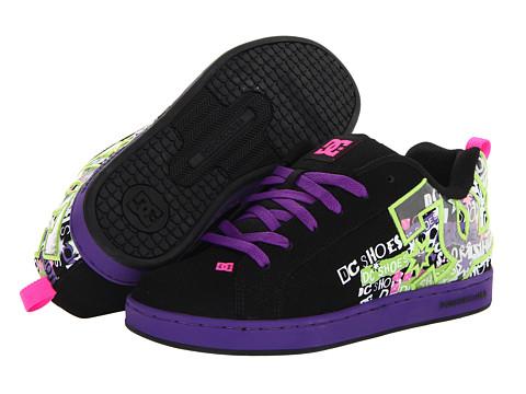 963e51b3c5 UPC 886959715871 product image for DC Court Graffik SE W (Black Fluorescent  Purple) ...
