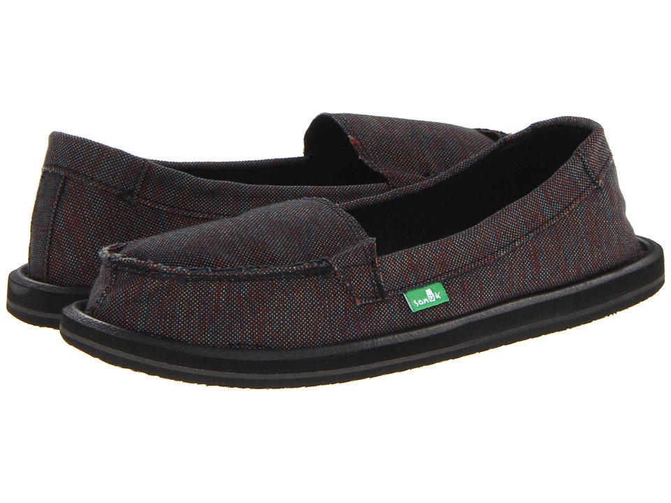 Sanuk - Shorty (Black/Multi) Women's Skate Shoes