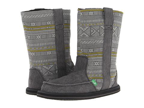 Sanuk - Wanderer (Charcoal) Women's Boots