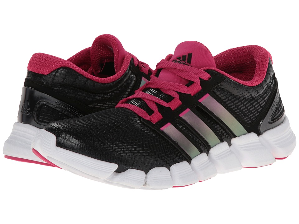 adidas Running - adipure CrazyQuick W (Black/Night Metallic/Blast Pink) Women's Running Shoes