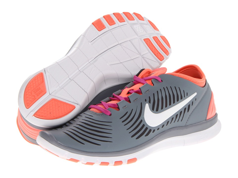 Nike - Free Edge TR (Stealth/Anthracite/Atomic Pink/White) Women's Cross Training Shoes