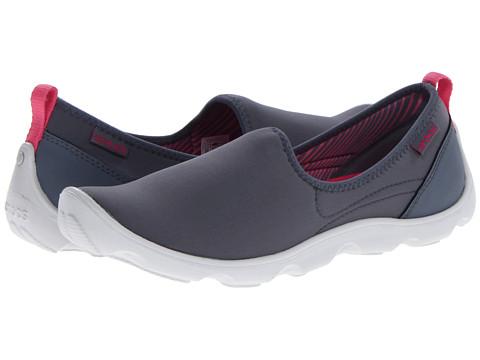 Crocs - Duet Sport Skimmer (Charcoal/Pearl White) Women